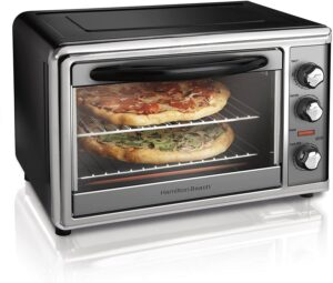 Hamilton Beach Countertop Rotisserie Convection Toaster Oven