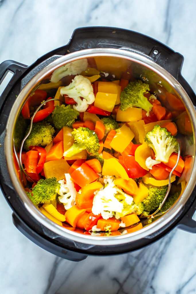 how to steam vegetables in electric pressure cooker