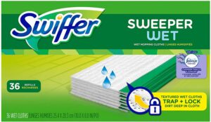 Swiffer Sweeper Wet Mopping Cloth Multi Surface Refills
