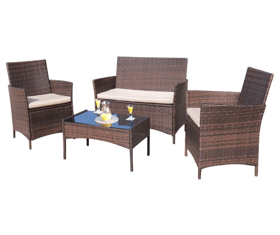 Homall-4-Pieces-Outdoor-Patio-Furniture-Sets