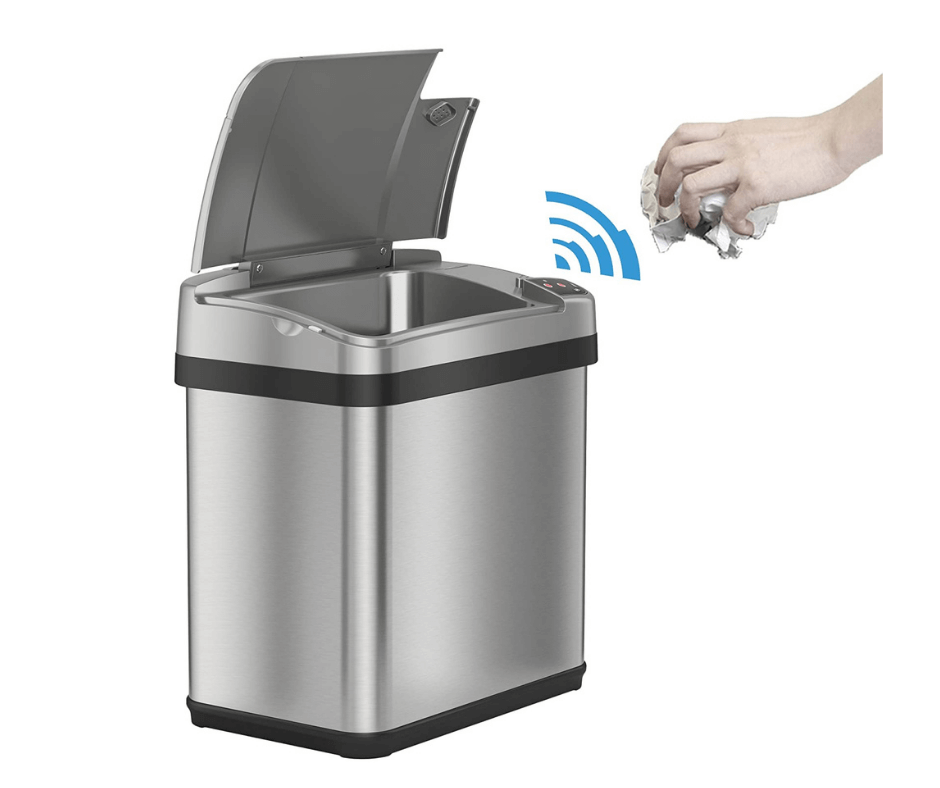 iTouchless Bathroom Touchless Trash Can